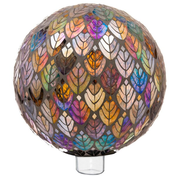 Ecumenics Baroque Splendor Mosaic Gazing Ball by Red Barrel Studio