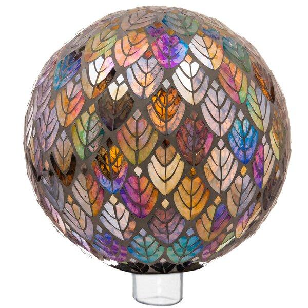 Ecumenics Baroque Splendor Mosaic Gazing Ball by Red Barrel Studio