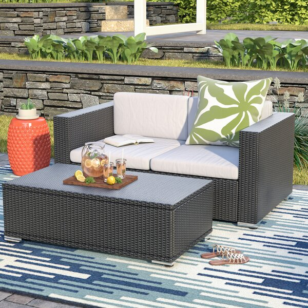 Tildenville 2 Piece Sofa Set with Cushions by Brayden Studio