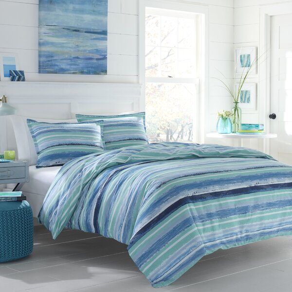 Chapelcrest Reversible Comforter Set by Beachcrest Home