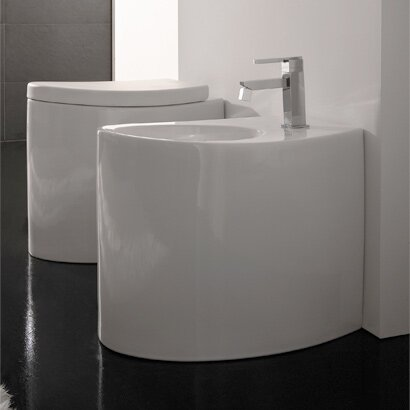 Zefiro 17 Floor Mount Bidet by Scarabeo by Nameeks