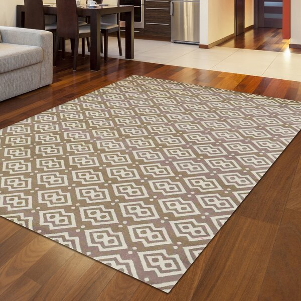 Durham Light Beige Area Rug by Threadbind