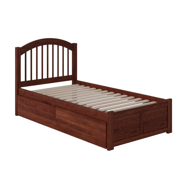 Holliston Storage Platform Bed by Harriet Bee