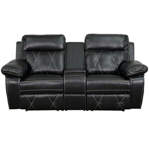 Traditional Leather Home Theater Recliner  sc 1 st  Wayfair & Theater Seating Youu0027ll Love | Wayfair islam-shia.org