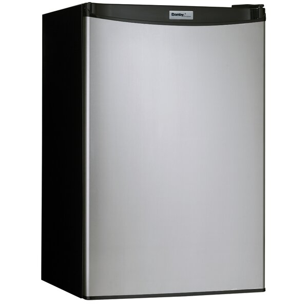 4.4 cu. ft. Compact Refrigerator with Freezer by Danby