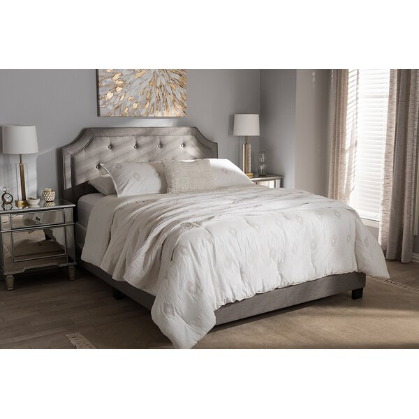Drew Upholstered Standard Bed by Mercer41