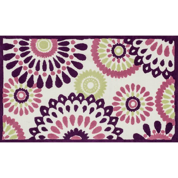 McTee Purple Area Rug by Ebern Designs