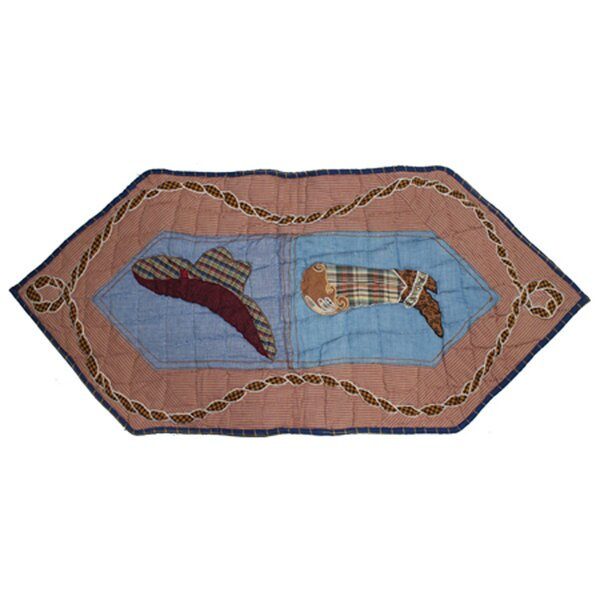 Cowgirl Table Runner by Patch Magic