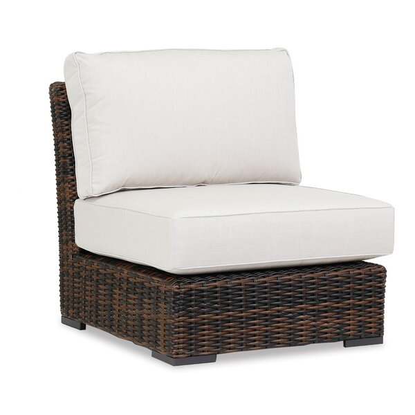 Montecito Armless Patio Chair with Sunbrella Cushions by Sunset West