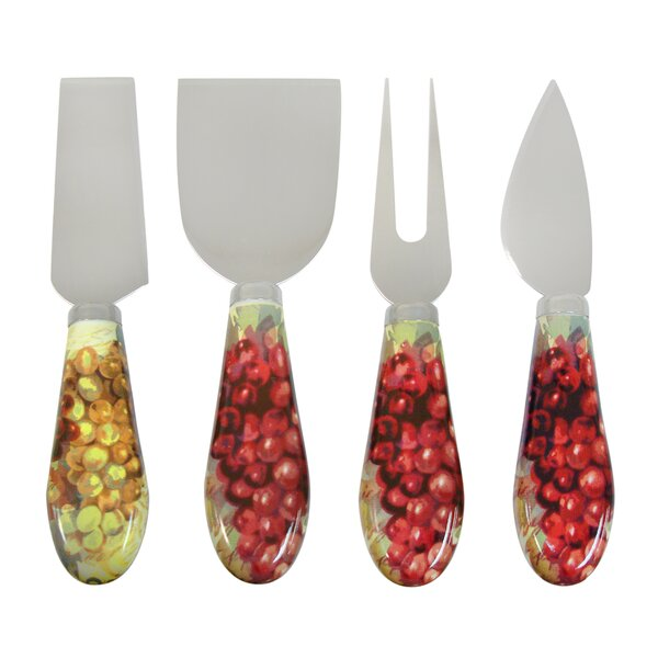 Sonoma 4 Piece Cheese Knive Set by Epicureanist