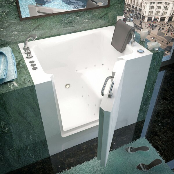Catalina 39 x 27 Walk-In Air Jetted Bathtub by Therapeutic Tubs
