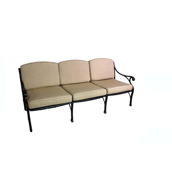 La Jolla Deep Seating Patio Sofa with Cushion by California Outdoor Designs California Outdoor Designs