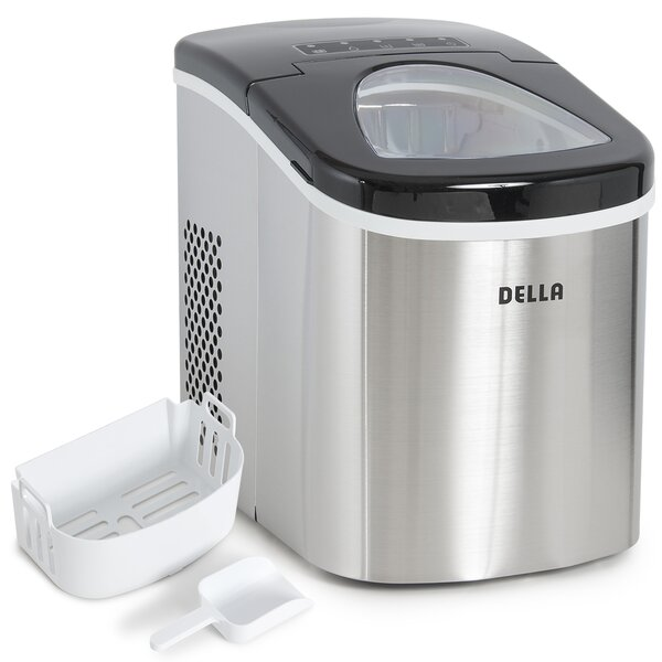 26 lb. Daily Production Portable Ice Maker by Della