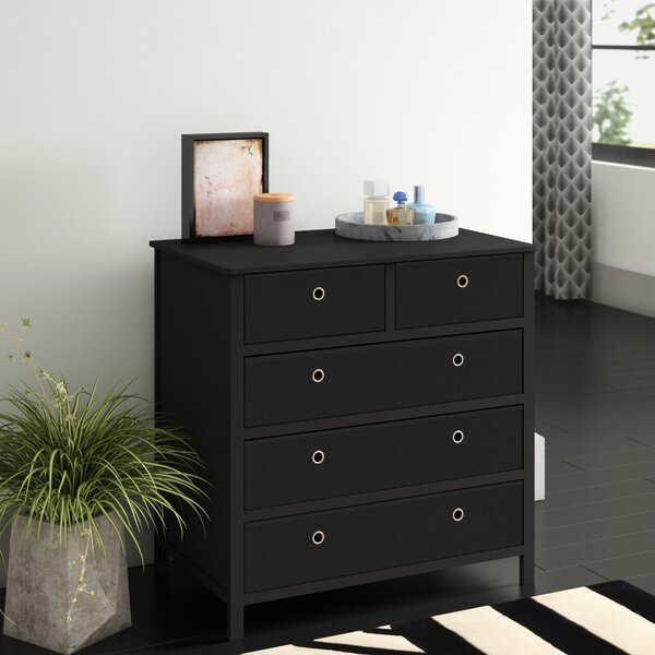Solange 5 Drawers Single Dresser by Andover Mills