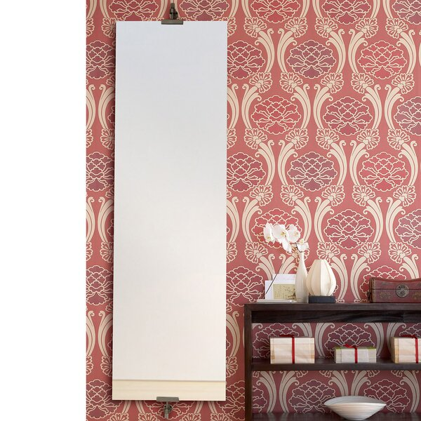 Aksel Unframed Rectangular Full Length WallMirror by Ren-Wil