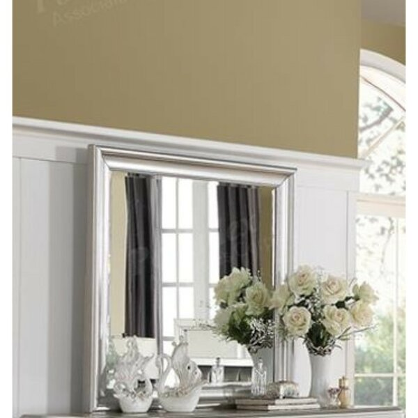 Duena Accent Mirror by House of Hampton