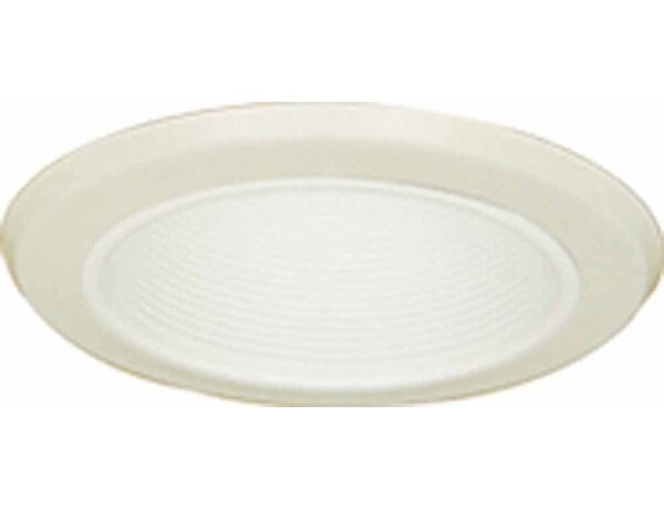 Air Tight Stepped Baffle 6.5 Recessed Trim by Volume Lighting
