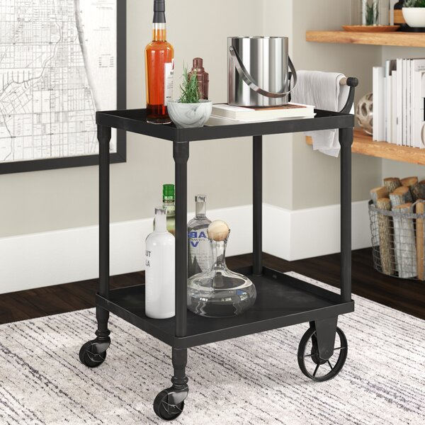 Sigmund Bar Cart by Trent Austin Design Trent Austin Design