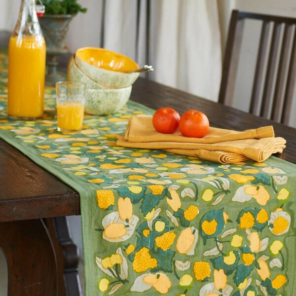 Fruit Table Runner by Couleur Nature