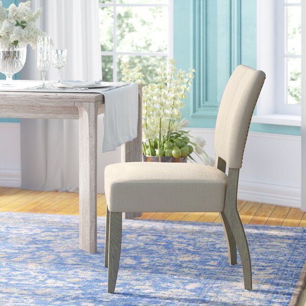 Willsey Upholstered Dining Chair (Set of 2) by Ophelia & Co.