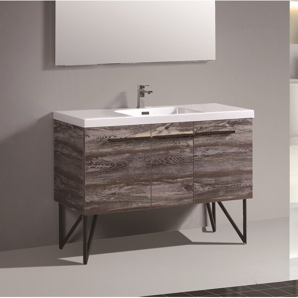 Perillo 47 Single Bathroom Vanity Set by George Oliver