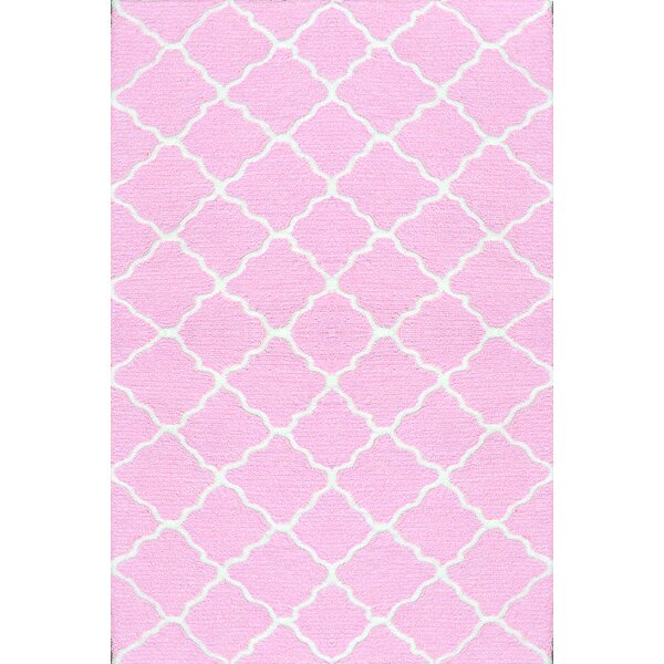 Handmade Pink Area Rug by Park Avenue Rugs