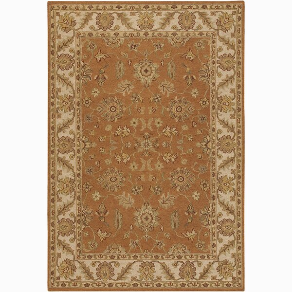 Abell Brown/Tan Area Rug by Alcott Hill