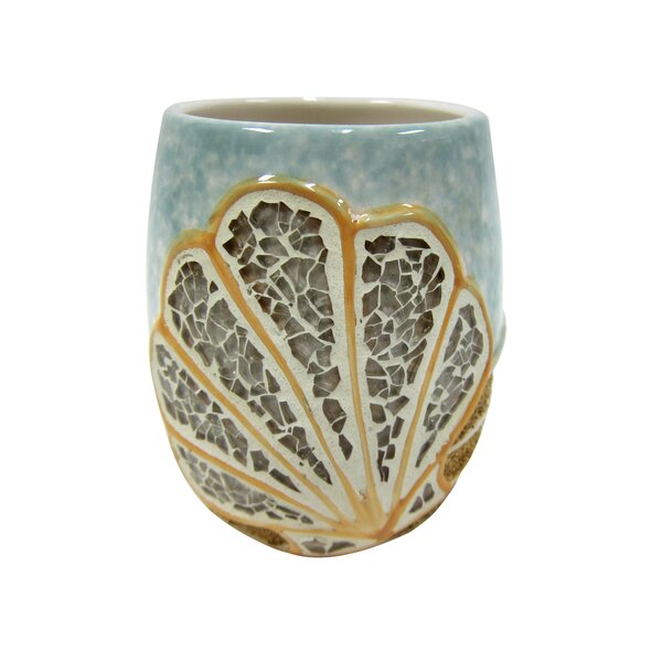 Mosaic Shell Tumbler by Croscill Home Fashions