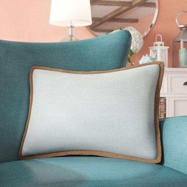 Eilene Linen Lumbar Pillow by Beachcrest Home