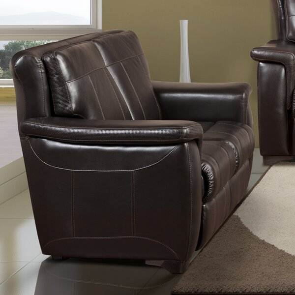 Lido Leather Loveseat by Fornirama