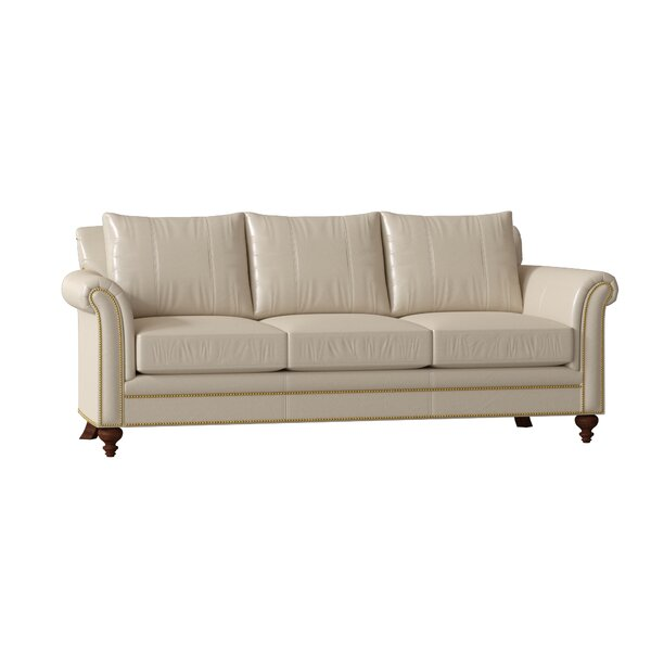 Dashing Style Richardson Leather Sofa by Bradington-Young by Bradington-Young