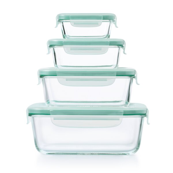Good Grips Snap Glass 4 Container Food Storage Set by OXO