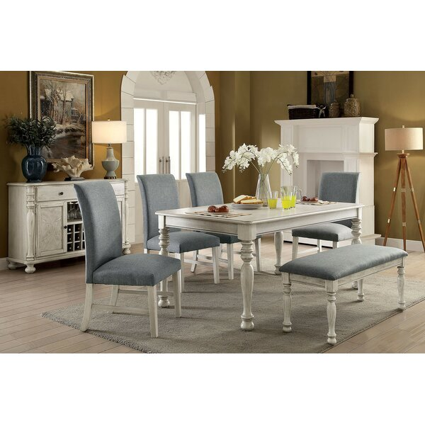 Frostley 6 Piece Dining Set by One Allium Way One Allium Way