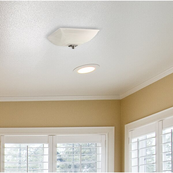 Ceiling 70 CFM Bathroom with Light by Lift Bridge