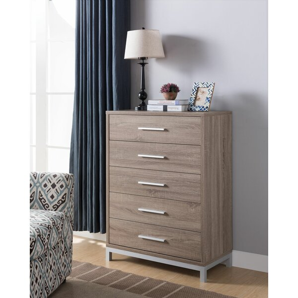 Kylie 5 Drawer Bachelors Chest by Latitude Run