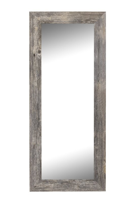 Antique Weathered Grey Framed Wall Mirror Amp Reviews