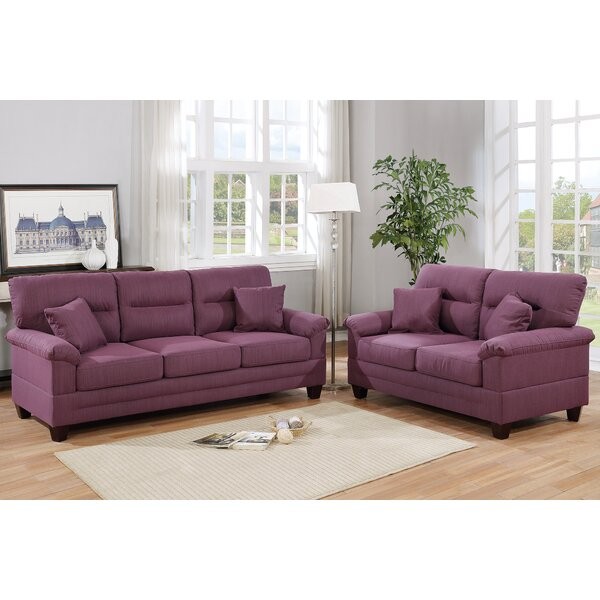 Taplin 2 Piece Living Room Set by Winston Porter