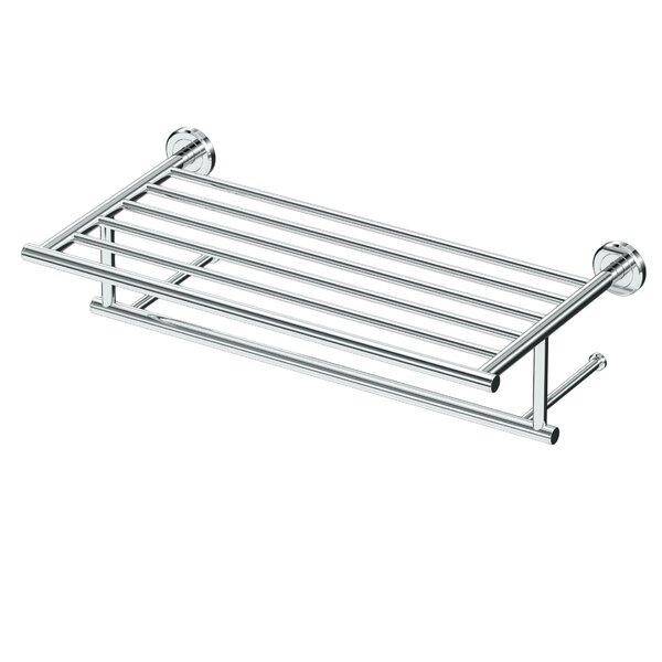 Latitude II Minimalist Spa Mounting Towel Rack by Gatco