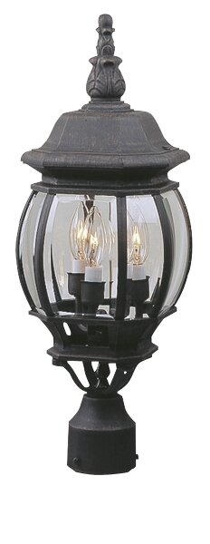 Oakhill 3-Light Black Lantern Head by Charlton Home