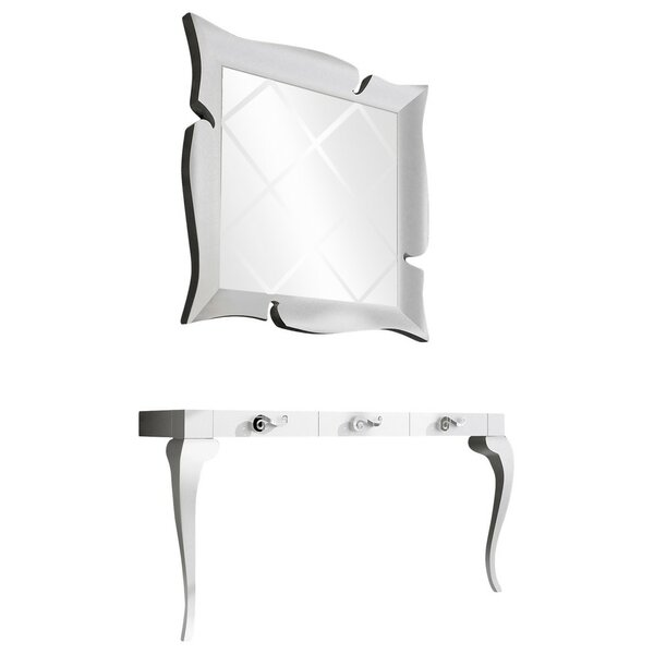 Schueler Console Table And Mirror Set By Orren Ellis