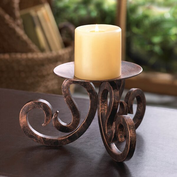 Iron Candelabra by Zingz & Thingz
