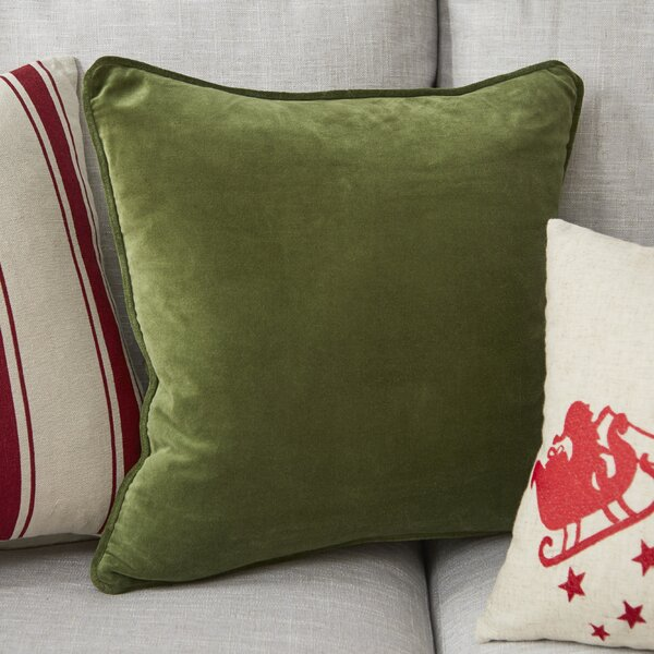 Baylie Velvet Pillow Cover by Willa Arlo Interiors  @ $24.99