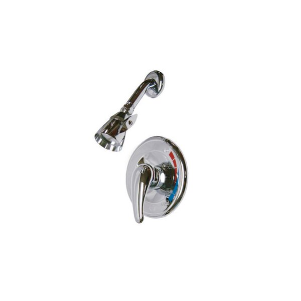 Volume Shower Faucet with Rough-in Valve and Trim by Kingston Brass Kingston Brass