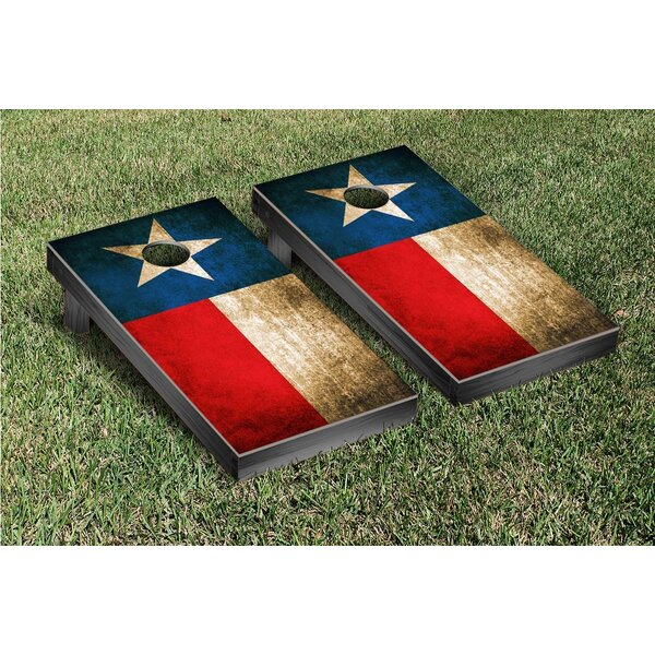 Vintage State Flag Cornhole Game Set by Victory Tailgate