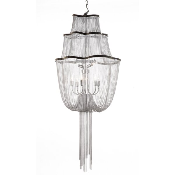 The Flow 7-Light Novelty Chandelier by dCOR design