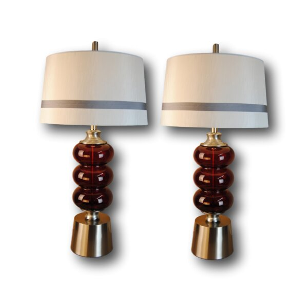 Harshbarger 31 Table Lamp Set (Set of 2) by Mercer41