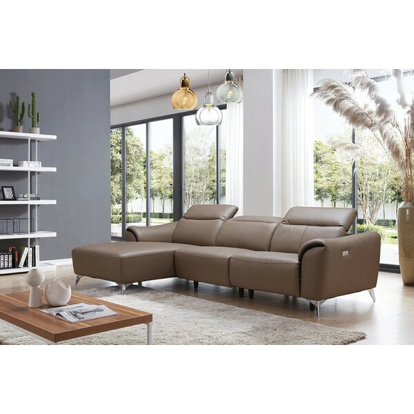 Zebediah Reclining Sectional by Orren Ellis