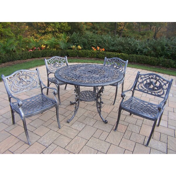 Mississippi Hummingbird 5 Piece Dining Set by Oakland Living
