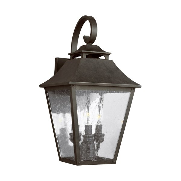 Stults 3-Light Outdoor Wall Lantern by Charlton Home