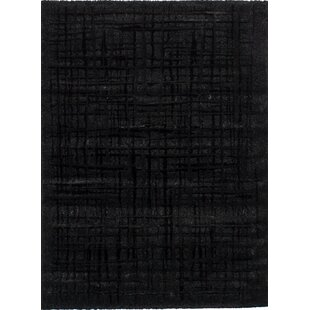 Purmerend Black Area Rug By Brayden Studio